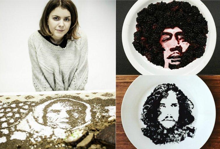 Įspūdingas maisto menas (tv3.lt fotomontažas)