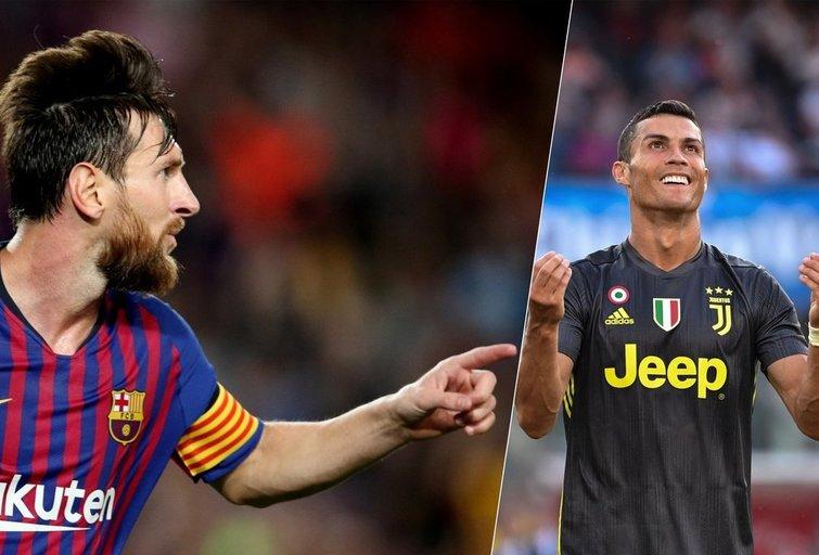 Lionelis Messi ir Cristiano Ronaldo (nuotr. SCANPIX)