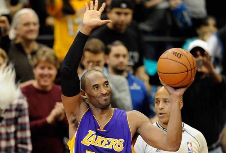 Kobe Bryantas rezultatyviausių visų laikų NBA lygos žaidėjų sąraše aplenkė Michaelą Jordaną (nuotr. SCANPIX)