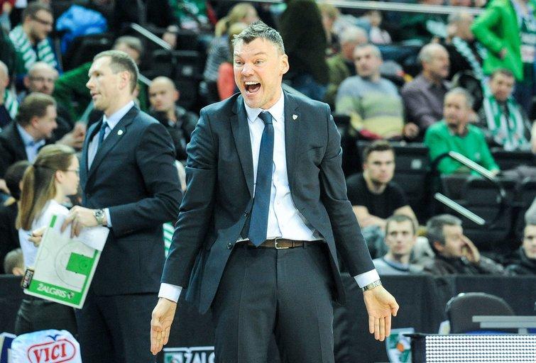 Šarūnas Jasikevičius (nuotr. Fotodiena.lt/Pauliaus Peleckio)