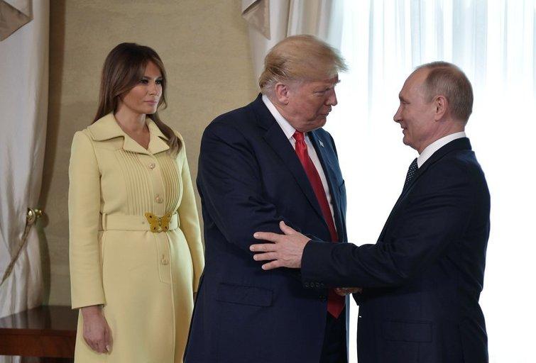 Donaldas Trumpas ir Vladimiras Putinas (nuotr. SCANPIX)