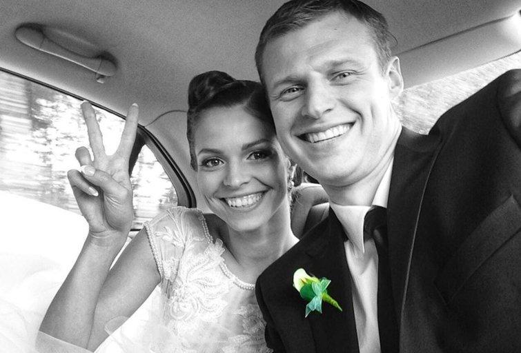 Viktorija ir Martynas Pociai (nuotr. Instagram)