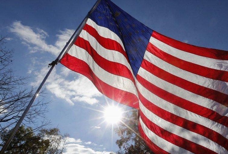 Amerikos vėliava (nuotr. SCANPIX)