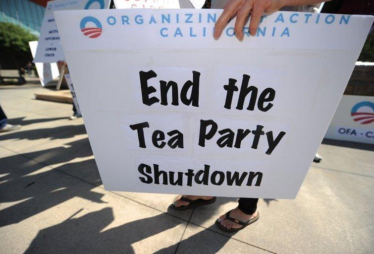 JAV respublikonai nesigaili kovoję dėl biudžeto ir pralaimėję (nuotr. SCANPIX)
