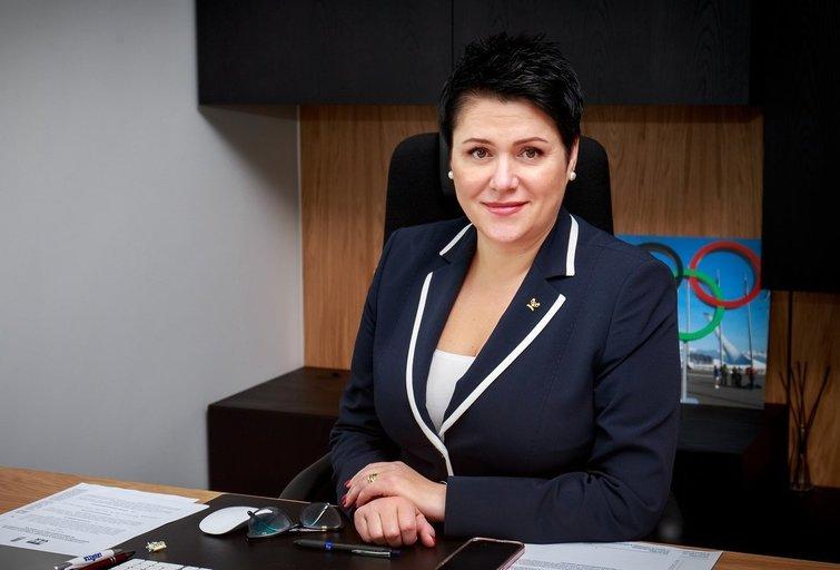 LTOK prezidentė Daina Gudzinevičiūtė. (nuotr. Sauliaus Čirbos)