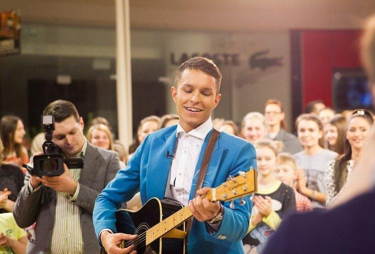 Atlikėjas M. Kavaliauskas (nuotr. TV3)