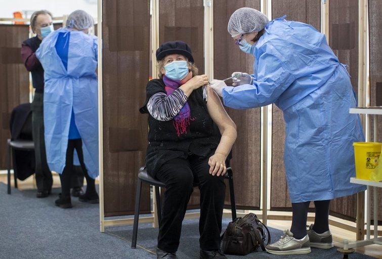 Vakcinacija Vilniuje (nuotr. SCANPIX)