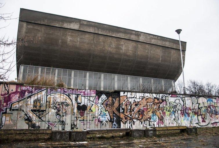 Uždaryti Vilniaus koncertų ir sporto rūmai (nuotr. Manto Stankevičiaus)