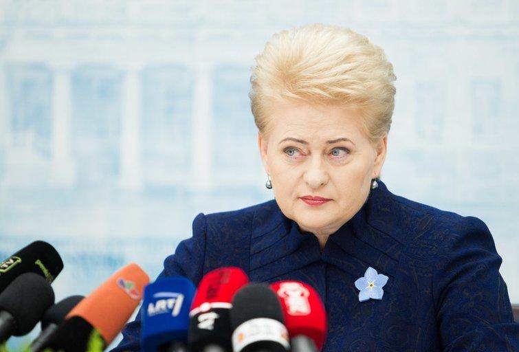 Prezidentė Dalia Grybauskaitė (nuotr. BFL)