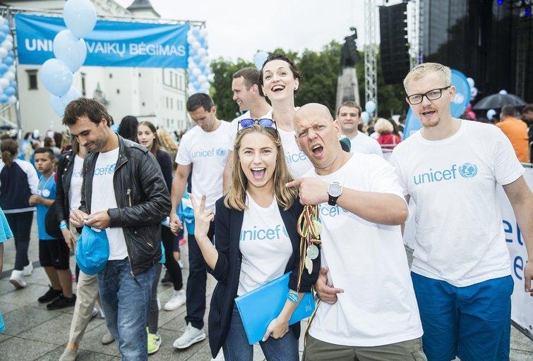 UNICEF vaikų bėgimas  (nuotr. Organizatorių)