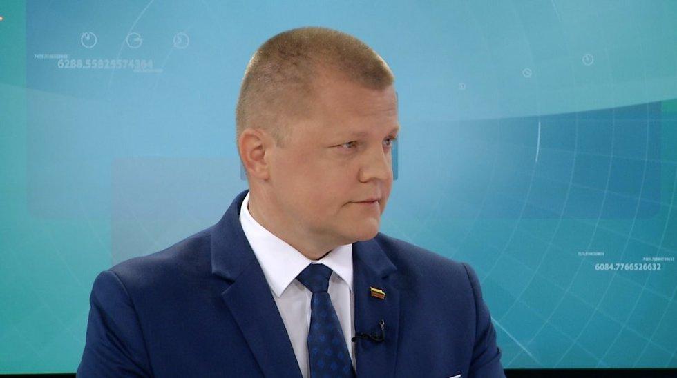 Dainius Gaižauskas (nuotr. stopkadras)