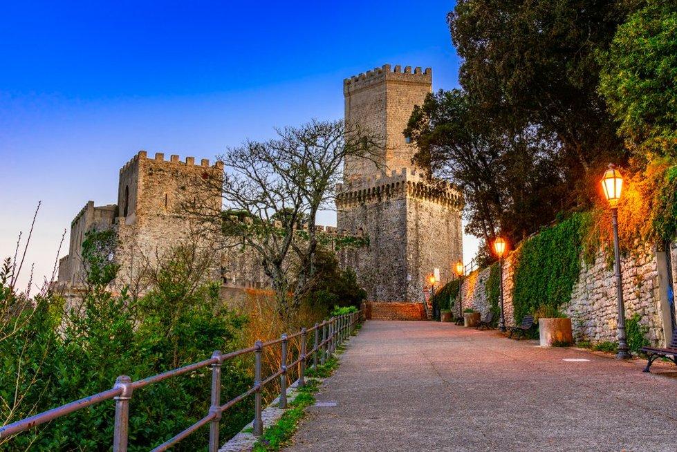 Castello Normanno di Erice, Sicilija