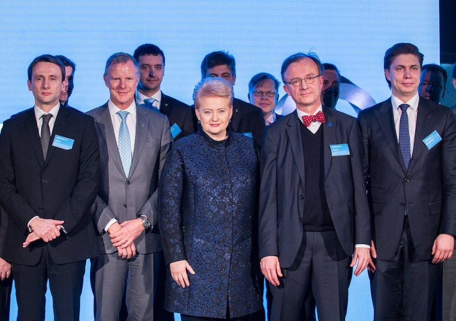 """Vilniuje oficialiai atidarytas didžiausio Europoje nerūdijančio plieno gamintojo """"Outokumpu"""" globalių paslaugų centras (nuotr. Organizatorių)"""