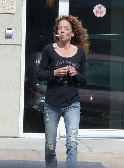 Mariah Carey sesuo Alison (nuotr. Vida Press)