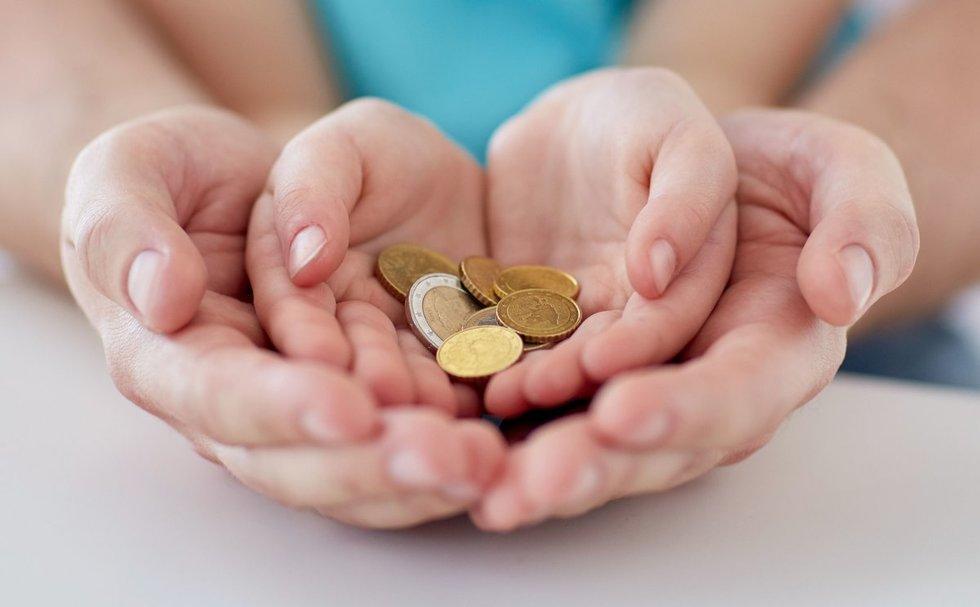 Vaiko pinigai (nuotr. 123rf.com)