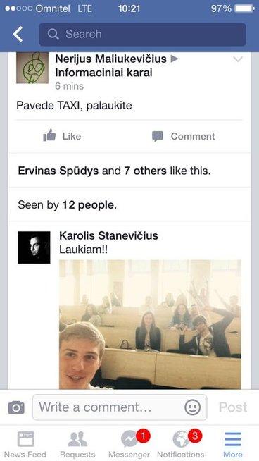 Facebook bendravimas