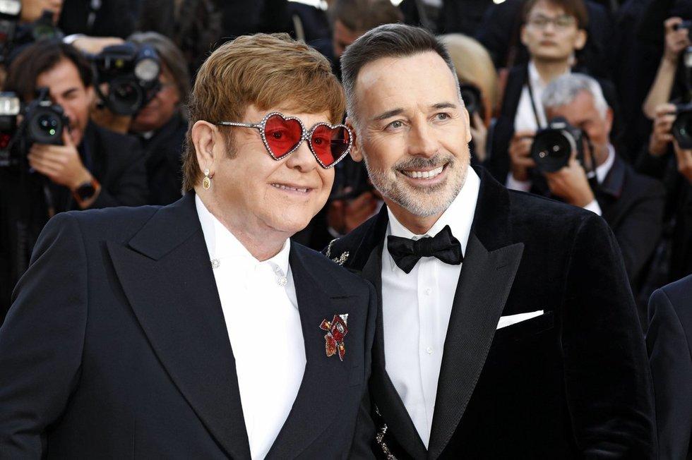 Elton John ir David Furnish