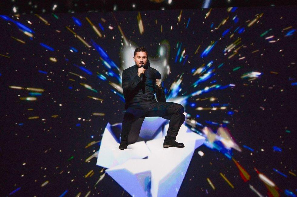 """Rusijos atstovas """"Eurovizijoje"""" Sergejus Lazarevas (nuotr. SCANPIX)"""