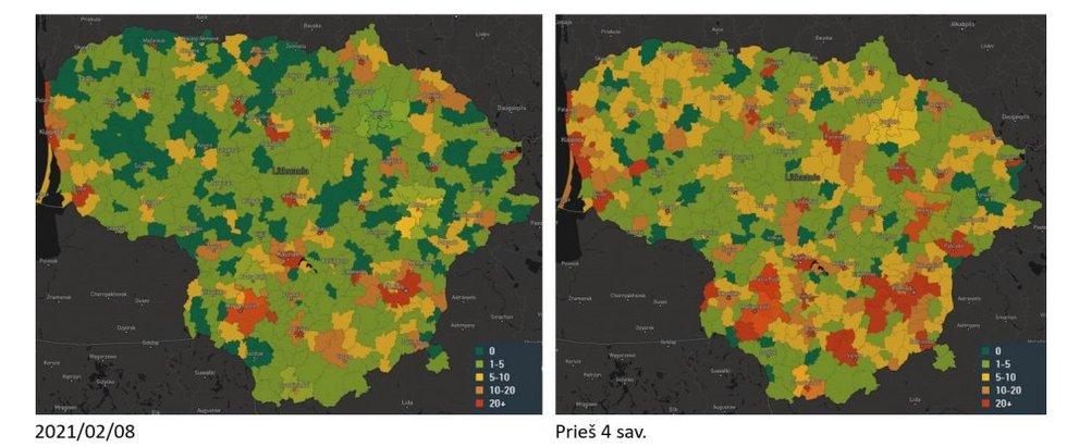 COVID-19 statistika (LRV)