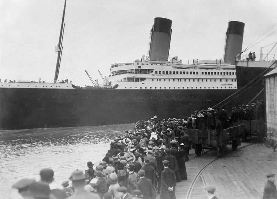 """""""Titaniko"""" katastrofa"""