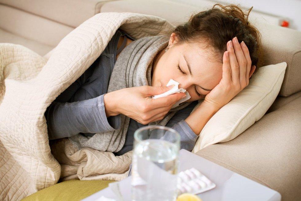 Koronavirusas, sloga ar alergija?