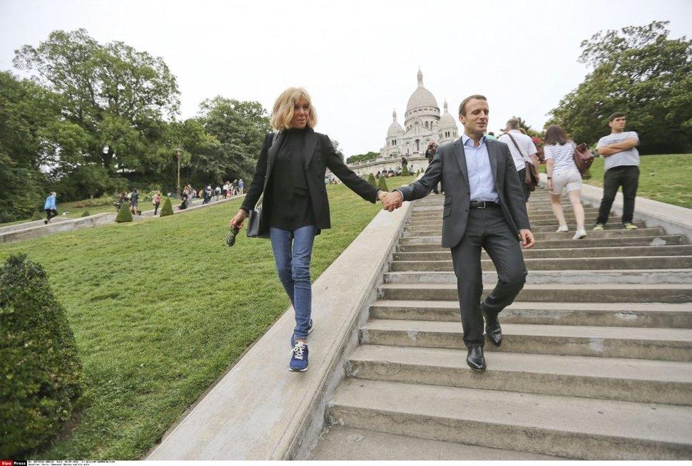 Pirmosios Prancūzijos ponios istorija: iš mokyklos į prezidentūrą (nuotr. SCANPIX)