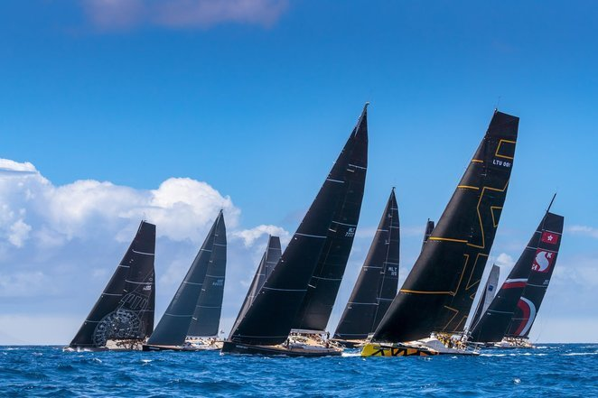 """Ambersail 2"" startuos ""The Ocean Race Europe"" varžybose (Christophe Jouany nuotr.)"