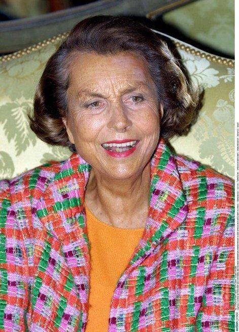 Liliane Bettencourtė (nuotr. Vida Press)