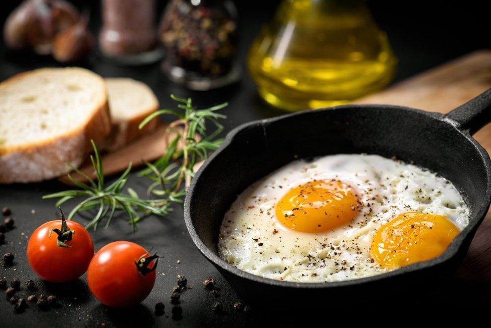 Kepti kiaušiniai