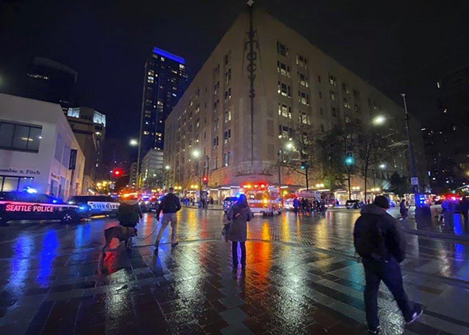 JAV Siatle įvyko šaudynės: skaičiuojamos aukos