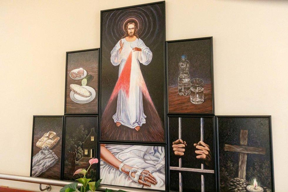 Gailestingumo darbai hospise(Nuotr. R. Kondratjev)