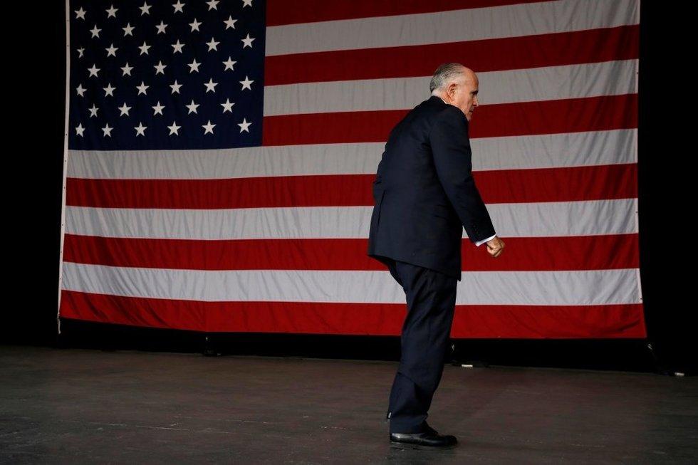 Rudy Giuliani (nuotr. SCANPIX)