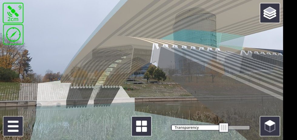 Pamatykite: pasidalijo naujo tilto per Nerį vaizdu
