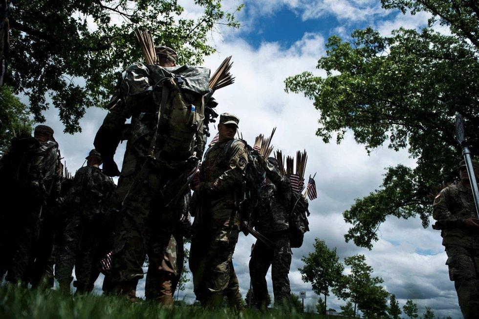 JAV karinės pajėgos (nuotr. SCANPIX)
