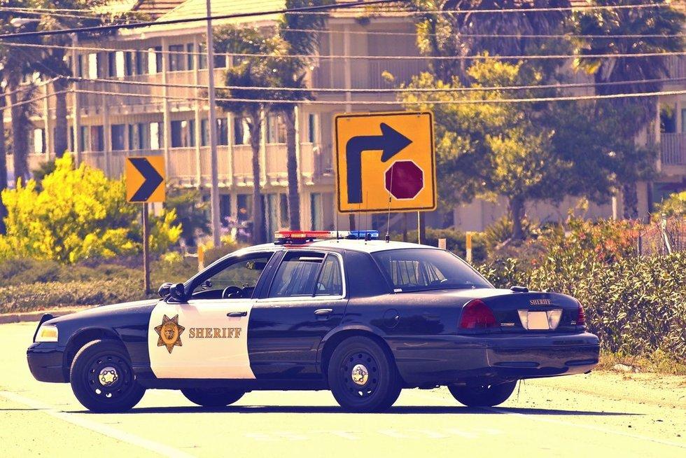 JAV policija (nuotr. 123rf.com)