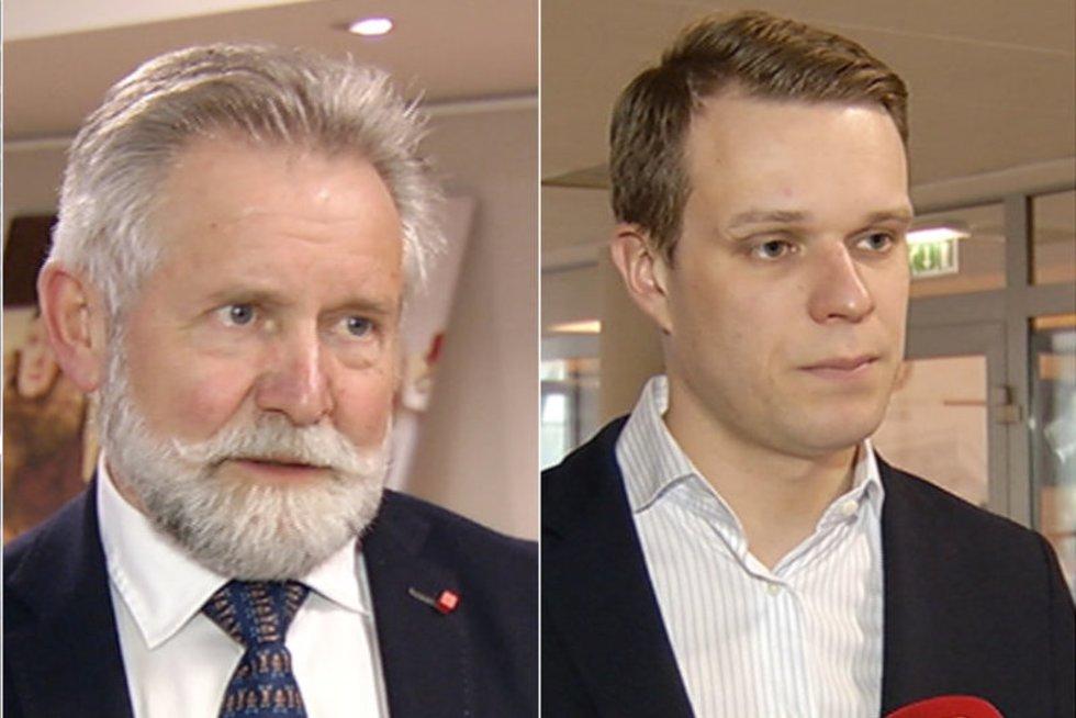 Gitanas Nausėda, Algirdas Sysas, Gabrielius Landsbergis (nuotr. tv3.lt)