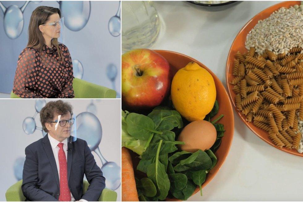 Sveikata.lt. Specialistai apie blogus lietuvių mitybos įpročius – trūksta įvairovės (tv3.lt koliažas)