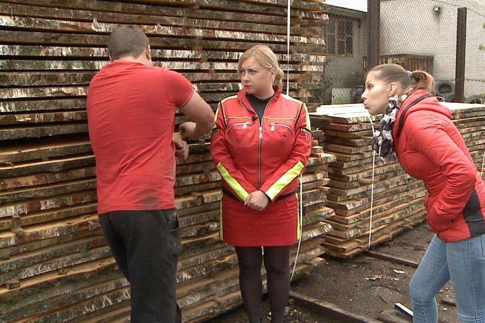 """TV pagalba""  (nuotr. TV3)"