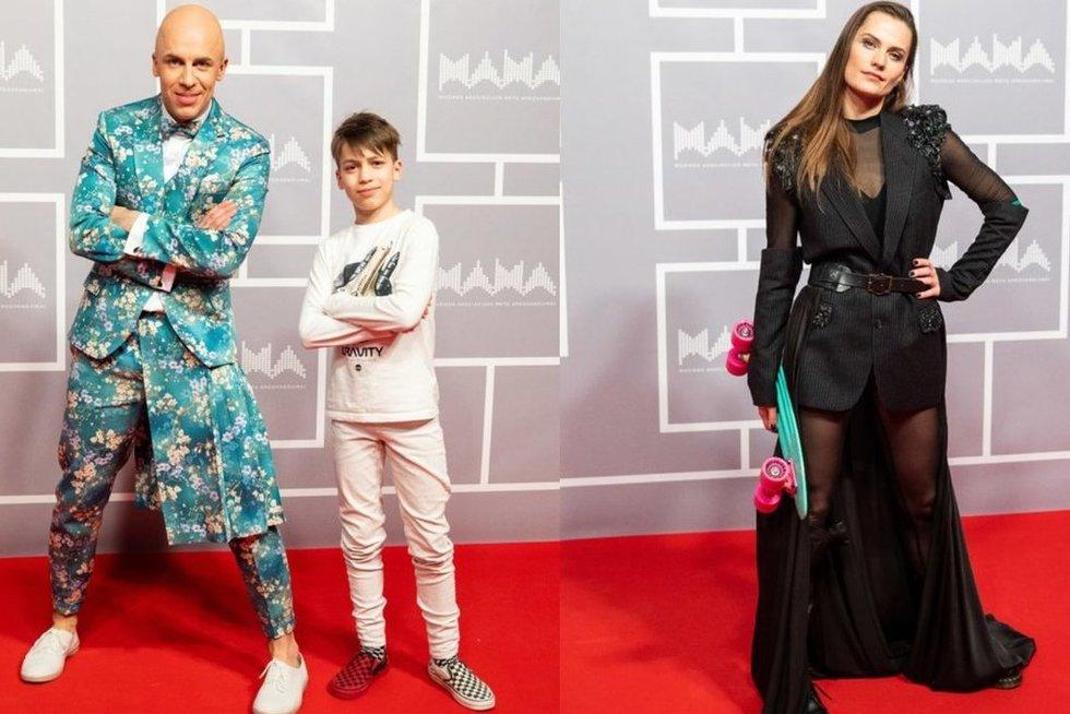 Vidas Bareikis, Jurga Šeduikytė ir jų sūnus Adas (tv3.lt fotomontažas)