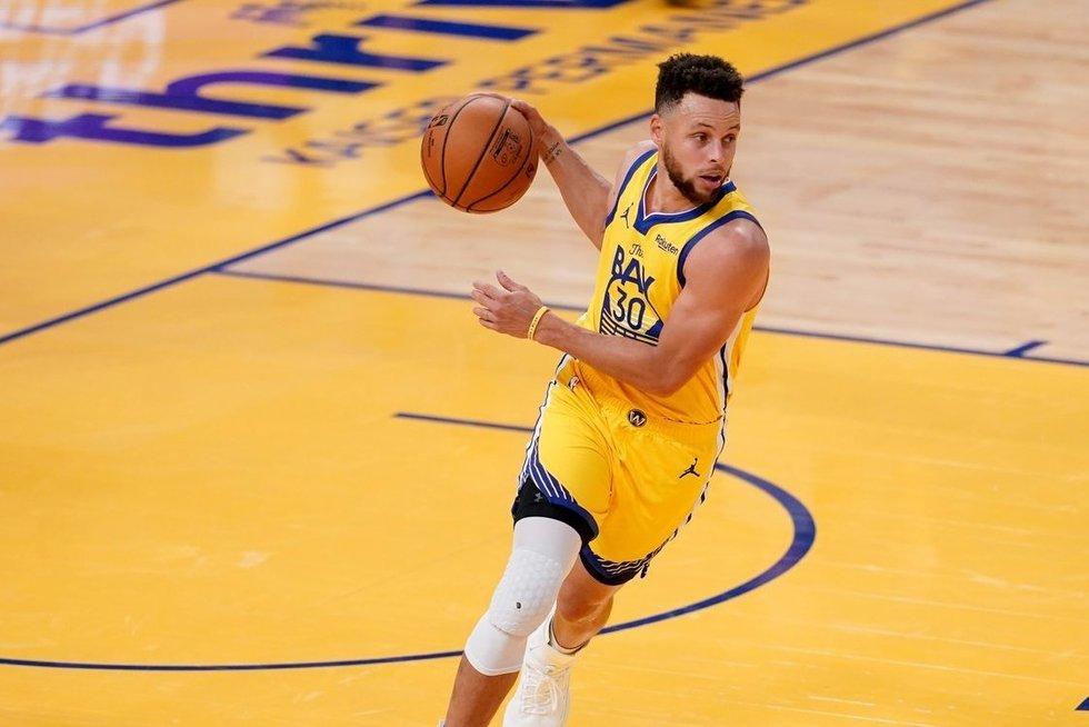 S. Curry. (nuotr. SCANPIX)