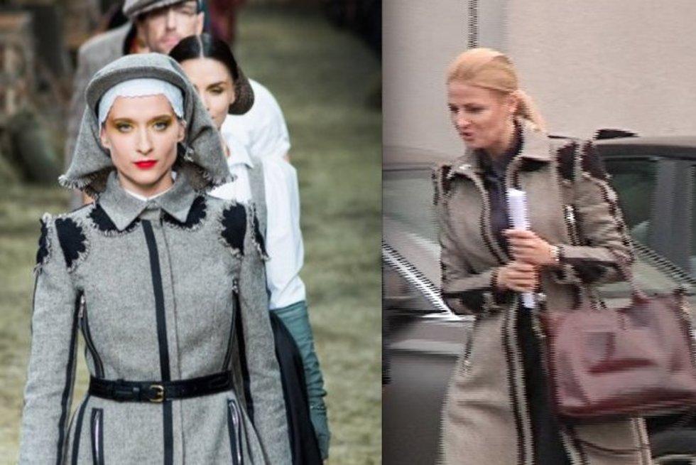 G. Kildišienės paltas - iš J. Statkevičiaus kolekcijos?