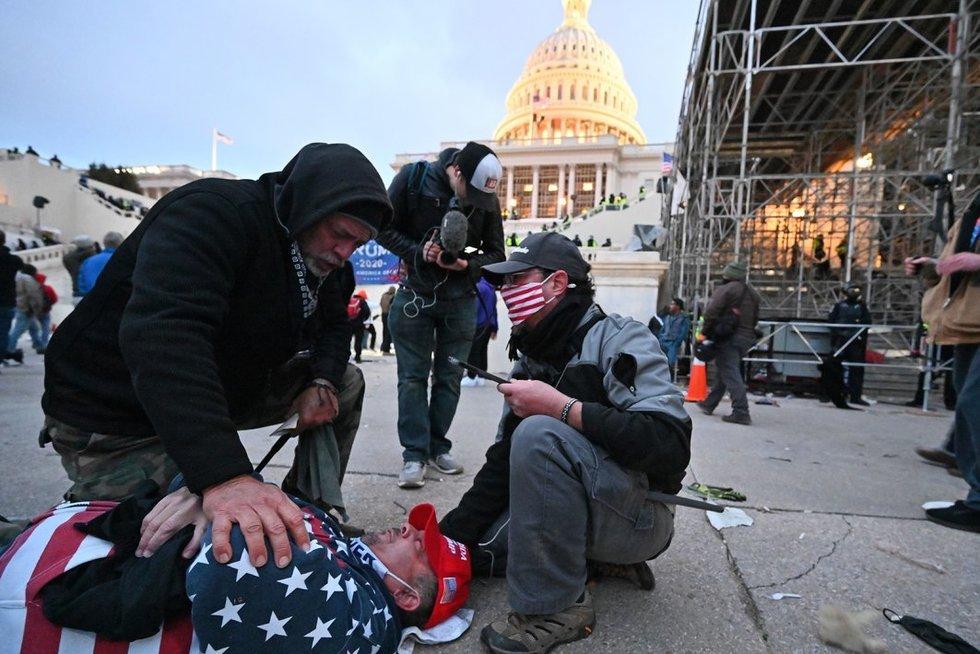 Neramumai Vašingtone (nuotr. SCANPIX)