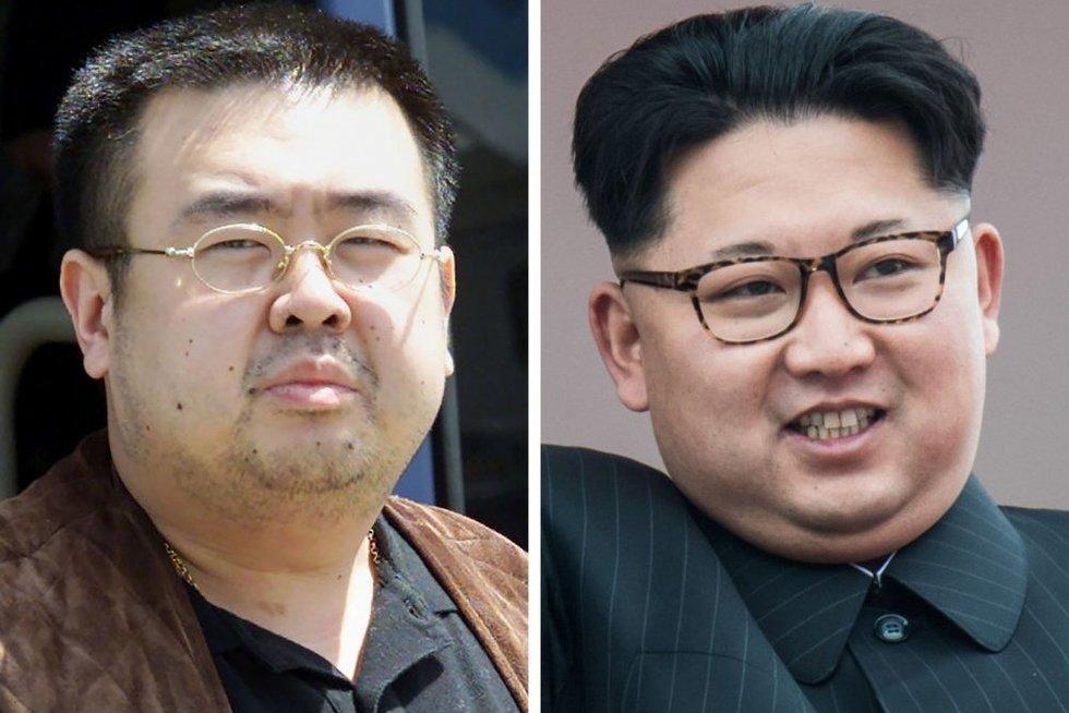 Kim Jong Uno brolio nužudymas įžiebė tarptautinę nesantaiką (nuotr. SCANPIX)