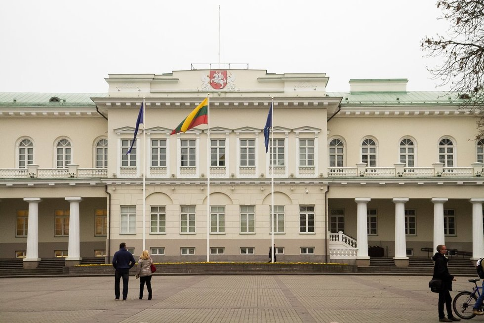 Lietuvos Respublikos prezidentūra (nuotr. Tv3.lt/Ruslano Kondratjevo)