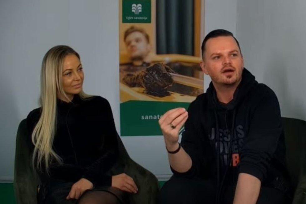Mia ir Ruslanas (nuotr. stop kadras)