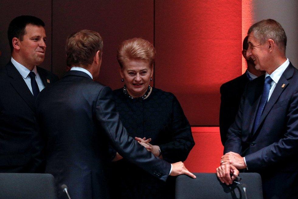 Derybos Briuselyje (nuotr. SCANPIX)