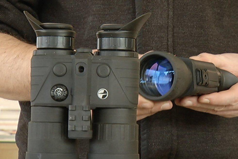 Medžioklės įranga (nuotr. stopkadras)
