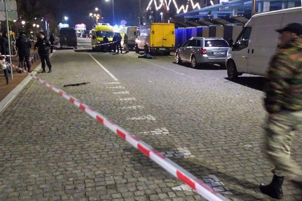 Šaudynės Lietuvos pašonėje: Karaliaučiuje nužudyti du žmonės, šaulys mirė ligoninėje (nuotr. SCANPIX)
