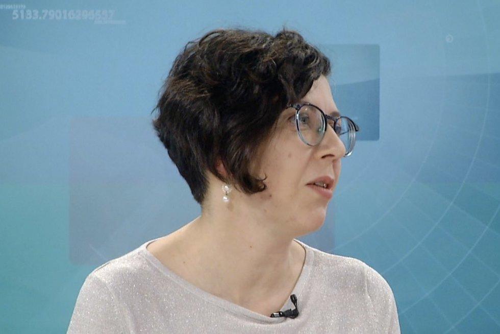 Rita Kareivaitienė (nuotr. stopkadras)