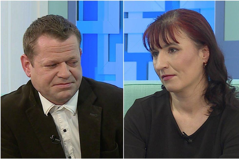 TV Pagalba. Dar neišsiskyrusi Vilma planuoja ateitį Norvegijoje – vaikus paliko vyrui (nuotr. stop kadras)